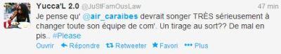 tweet air caraibes